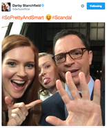 5x03 (09-23-15) Darby Stanchfield - Selfie with Portia and Joshua