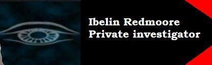 Ibelin's business card
