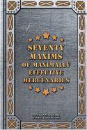 Seventy Maxims (cover)
