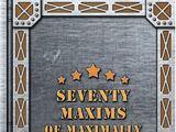 The Seventy Maxims of Maximally Effective Mercenaries