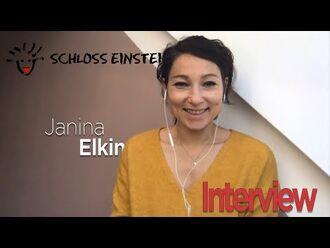 Janina_Elkin_(Anna_Carina_Levin)_im_Schloss_Einstein_Interview