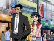 Harima and Tenma shopping together