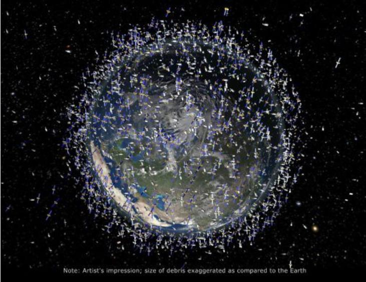 Японский «космический сборщик мусора» не выполнил свою миссию