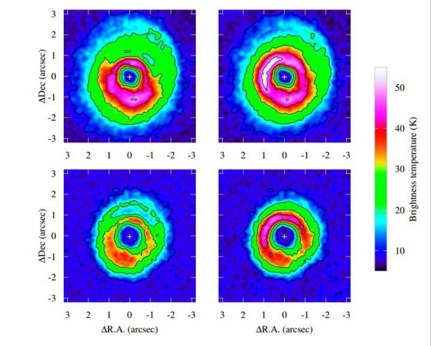 Астрономы рассматривают молодой остаточный диск вокруг звезды