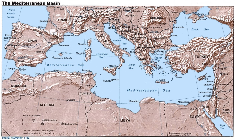 Средиземноморье