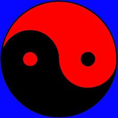 Древнекитайский символ дуальности начал Инь и Янь