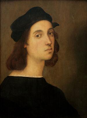 Selfportrait of Raffaelo, Uffizi Florence.jpg