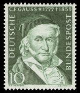 DBP 1955 204 Carl Friedrich Gauß