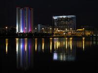 Night Ekb Пруд