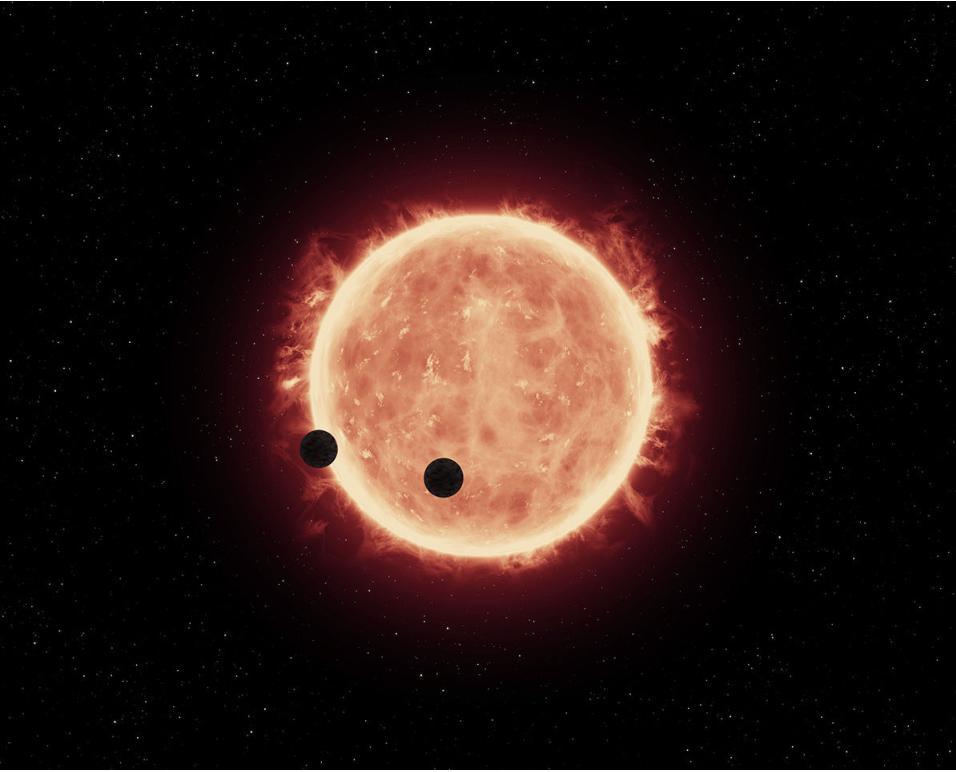 На орбитах вокруг красных карликов чаще встречаются планеты размером с Землю