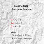 Conservation-laws-Electric-Field-mine