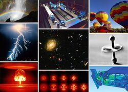 Примеры разнообразных физических явлений