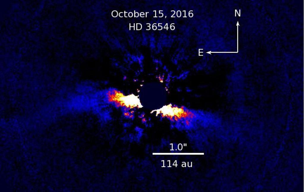 Новый инструмент для получения изображений планет «открывает глаза»