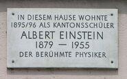 Home Albert Einstein 1895 Memorial