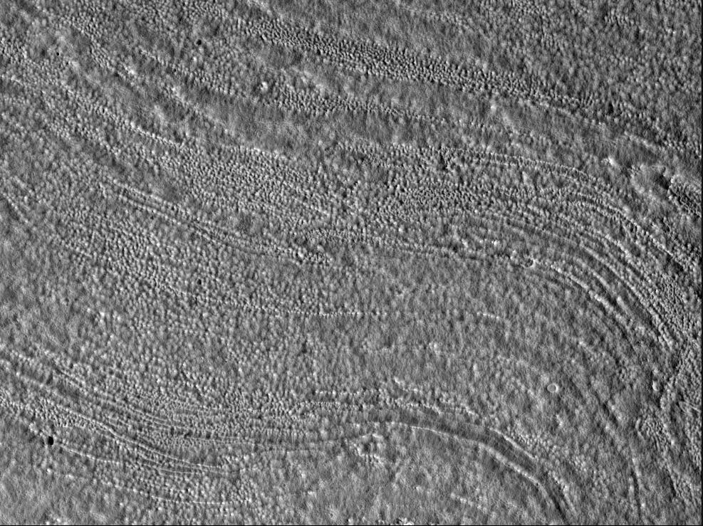 Марс - Особенности столовых гор Deuteronilus Mensae
