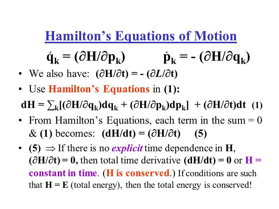Εξισώσεις Hamilton