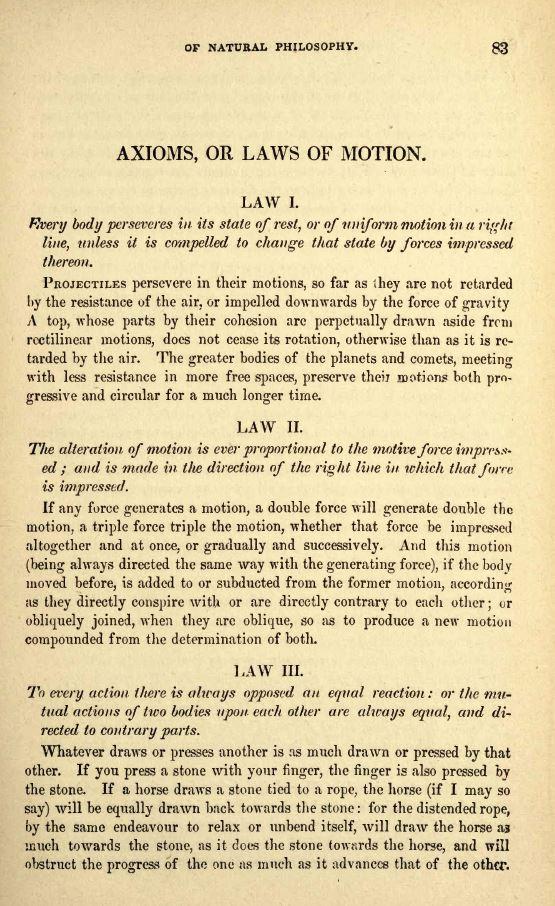Νόμοι Newton