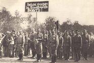 Демонстрация солдат 1917