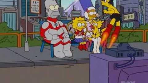 Simpsons Anime Sofa