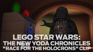 "LEGO Star Wars The New Yoda Chronicles ""Race for the Holocrons"" Clip"