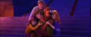 Scooby Gang Hug