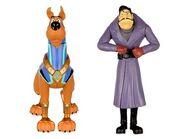 Scooby Doo Hero And Dick Dastardly SCOOB Figure