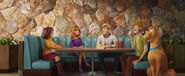 Scooby Doo Gang Sitting