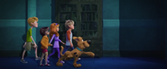 Young Scooby Team Walk
