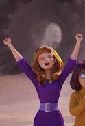Daphne Cheering With Joy