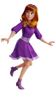Daphne Jeepers! SCOOB! Render