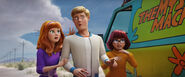 SCOOB Final Trailer Daphne Fred And Velma Suprised 1