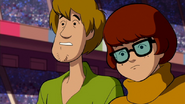 Shaggy and Velma after the mystery