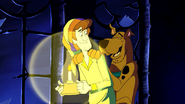 Shaggy and Scooby after being terrified