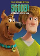 SCOOB! Best Friends Activity Book cover
