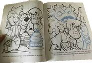 Scooby Doo - Scooby Snacks Landolls Sticker Fun Book - Double Page
