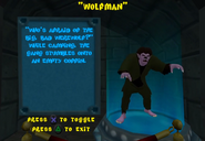 SCNF Wolfman