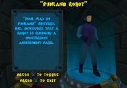 SCNF Funland Robot