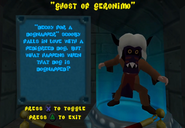SCNF Ghost of Geronimo