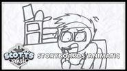 Storyboards Animatics - It's a Bargain Bin Christmas