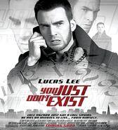 Scott pilgrim vs the world lucas lee you just dont exist fake movie poster-1-