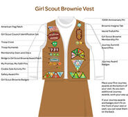 Where to put the patches and pins in your uniform