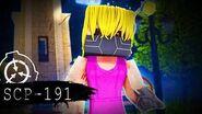 """Minecraft SCP Foundation! - SCP-191 """"CYBORG CHILD"""" S4E5"""