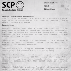 SCP-714