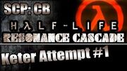 Epic Jumpscares! SCP CB Mod HL Resonance Cascade - Keter Attempt 1