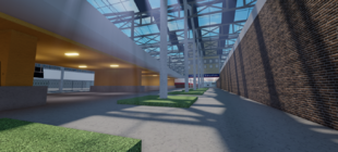 The Arches/South Concourse Interior