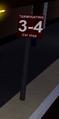 Terminating 3-4 Car Stop