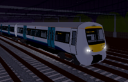 Class 357 Approaching Stepford Central