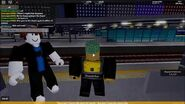 Park5577 (Park3377 impersonator) Trespassing and jumping across platforms
