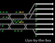Track Layout near Llyn-by-the-Sea