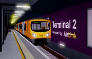 Class 185 @ Airport Terminal 2